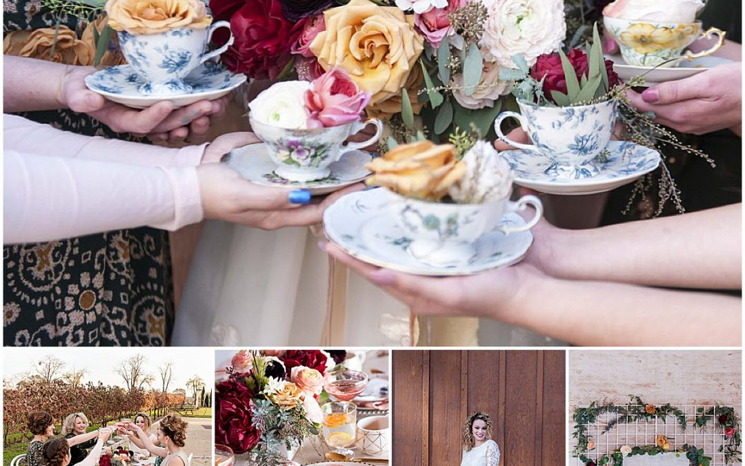 Bridal Tea Party Shower in Morgan Hill by Jen Vazquez Photography