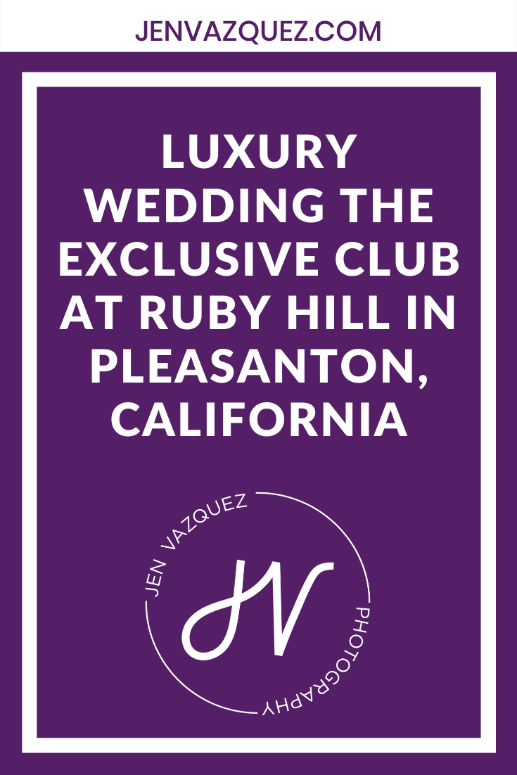 luxury Wedding The exclusive club at ruby hill in pleasanton, california 3