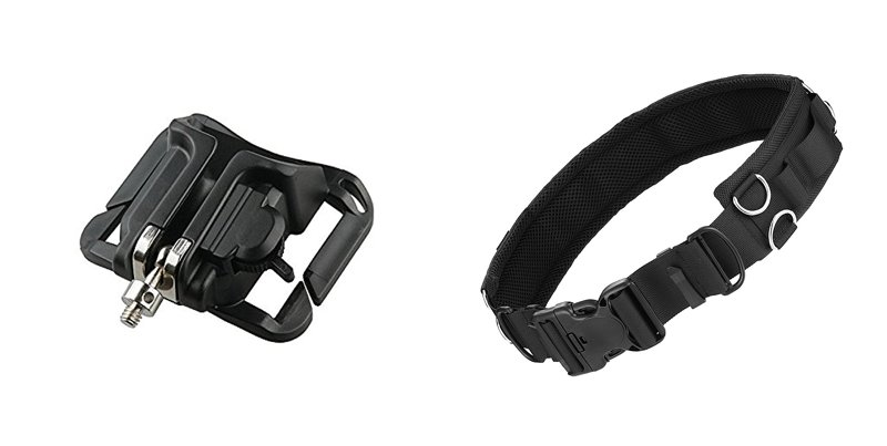 Camera belt and Hook for hands free photography