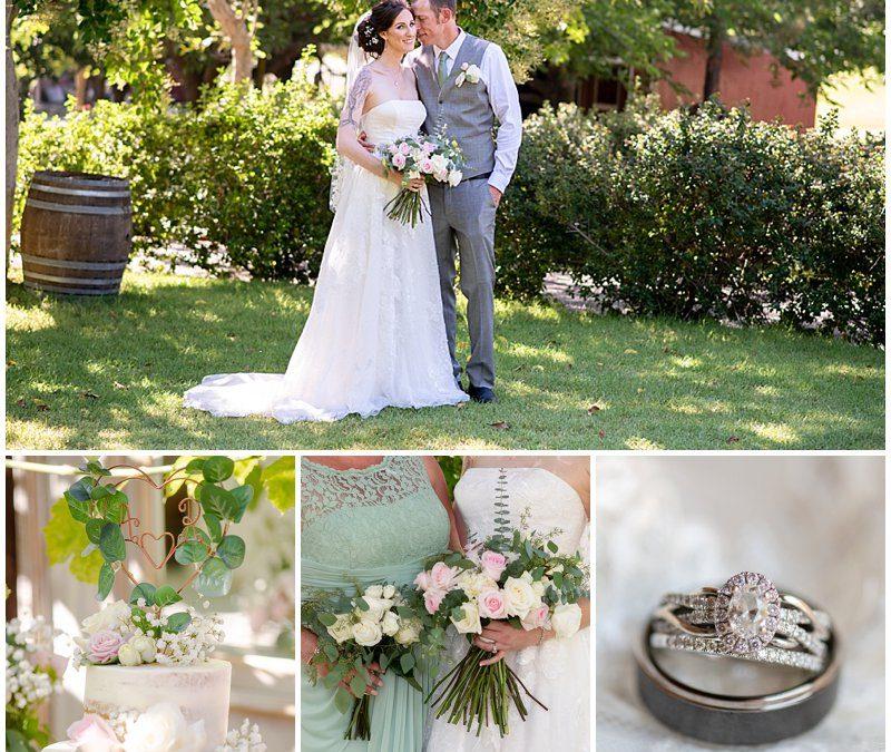 Romantic Ranch Wedding at Coyote Ranch in California | Amanda + Robert | Jen Vazquez Wedding Photographer