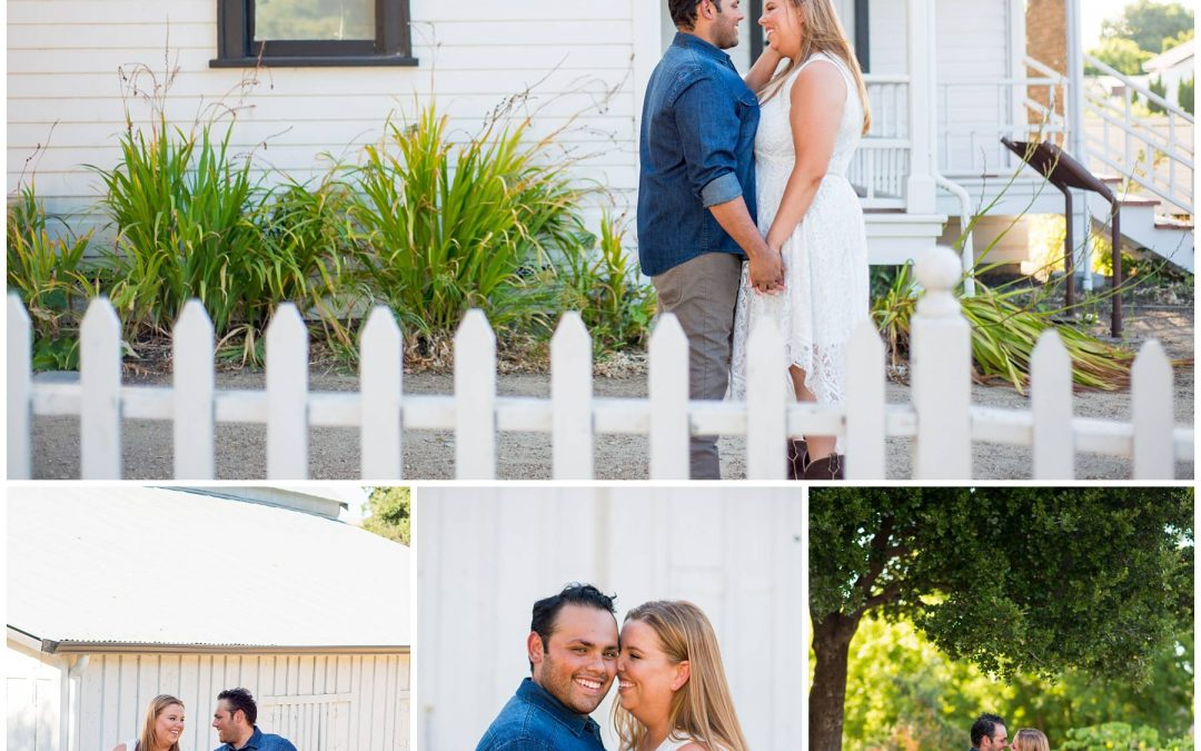 Rustic Bernal Ranch Engagement Session | Meghan + Esau | Jen Vazquez Photography