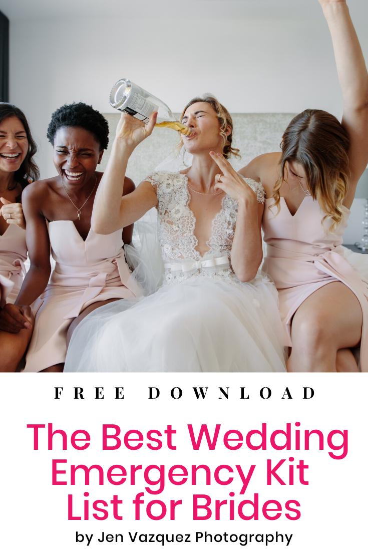 Best Wedding Emergency Kit List for Brides 7