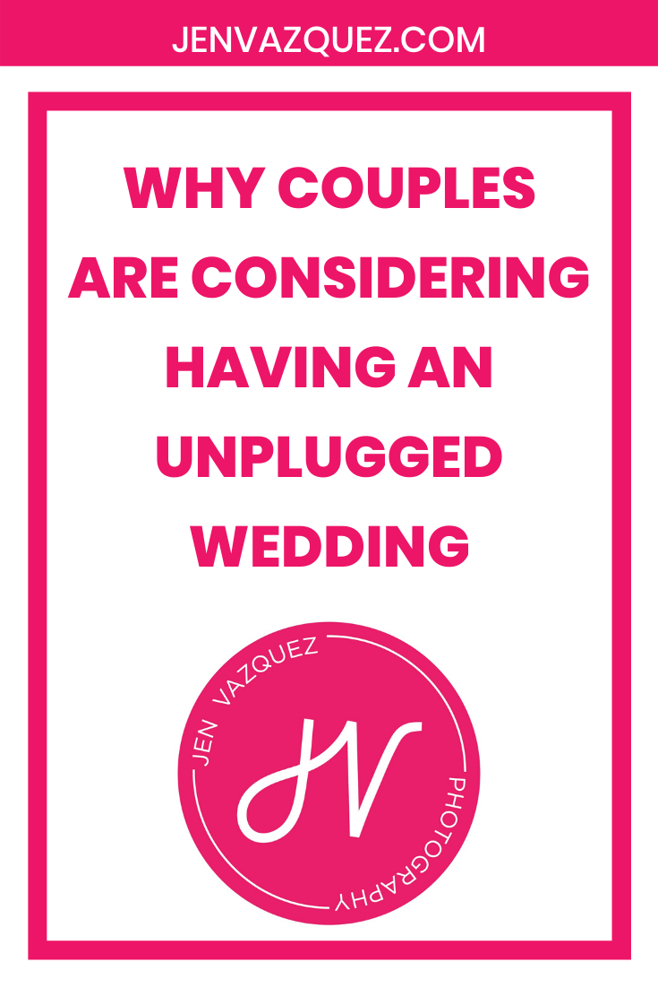 Why couples are considering having an unplugged wedding 1