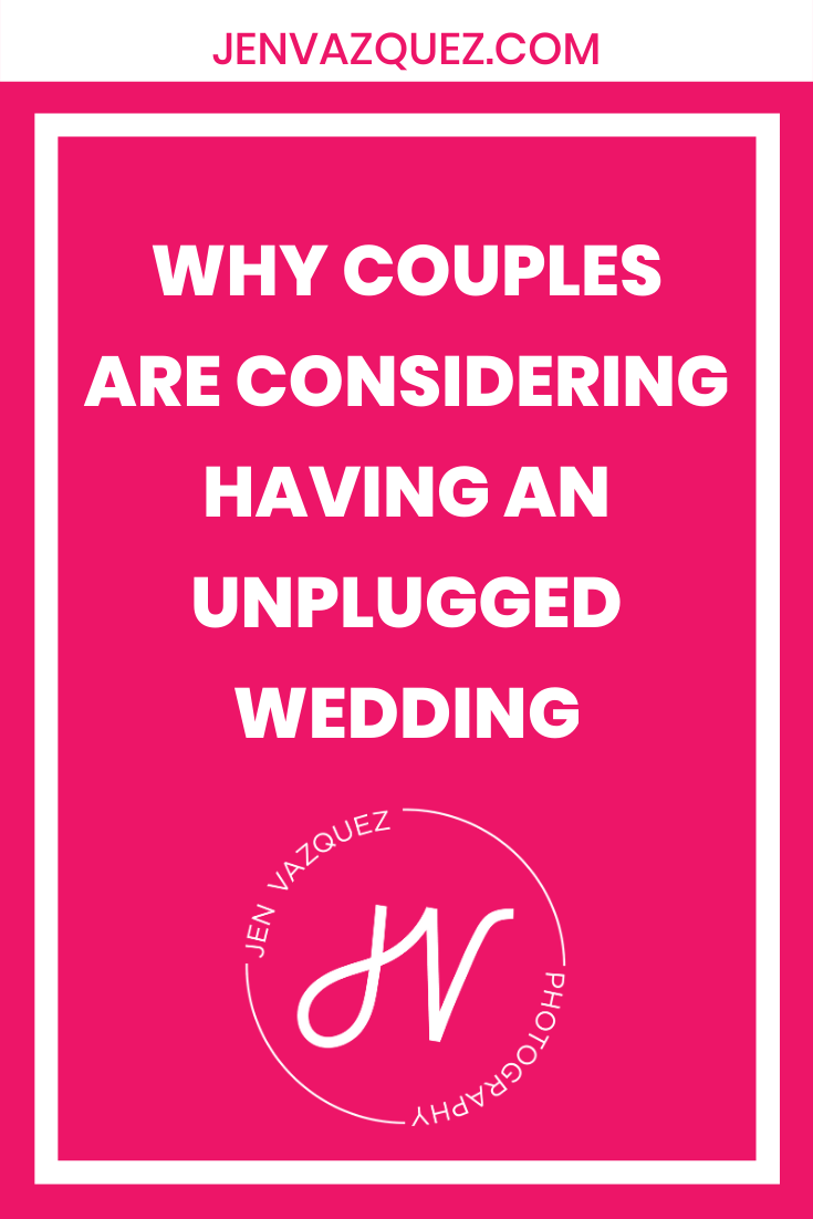 Why couples are considering having an unplugged wedding 2