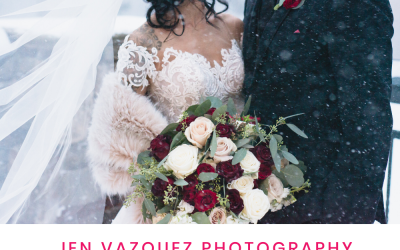 Winter Wonderland Wedding at Chateau Incline Village in Tahoe Nevada | Vanessa + Eric | Jen Vazquez Photography