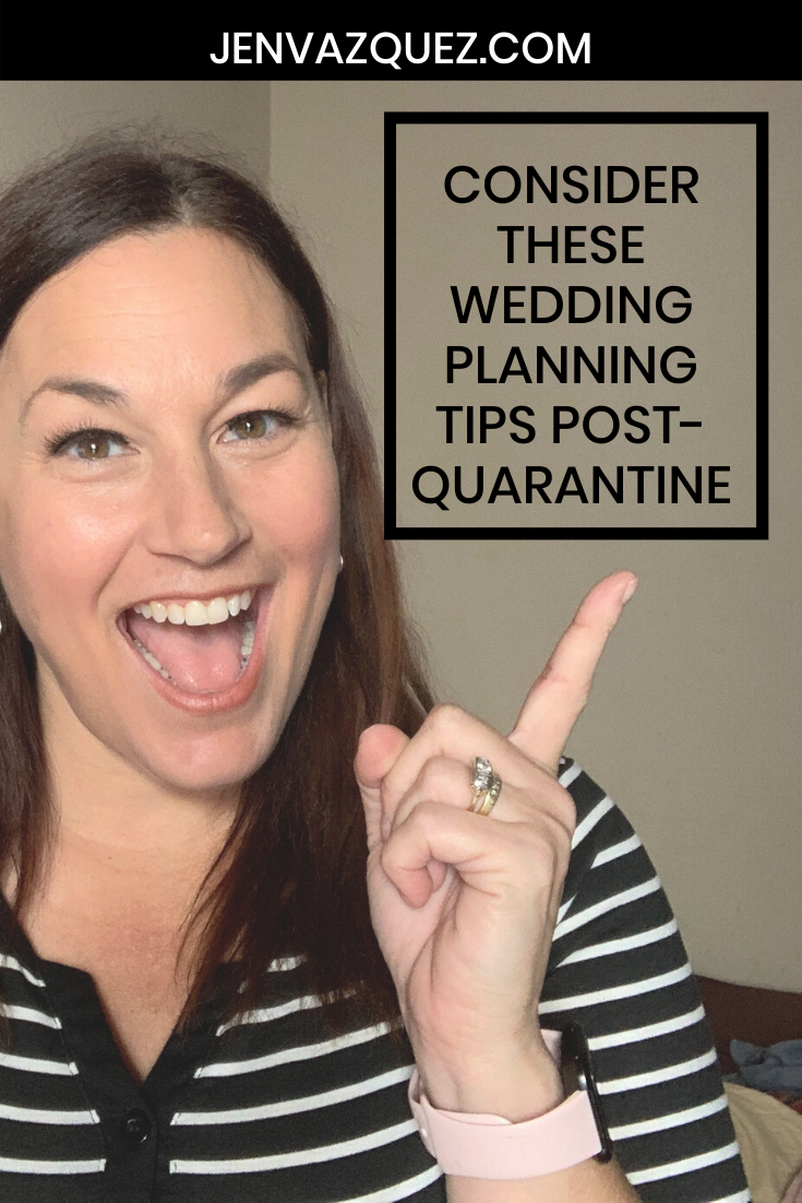 Wedding planning tips post-quarantine