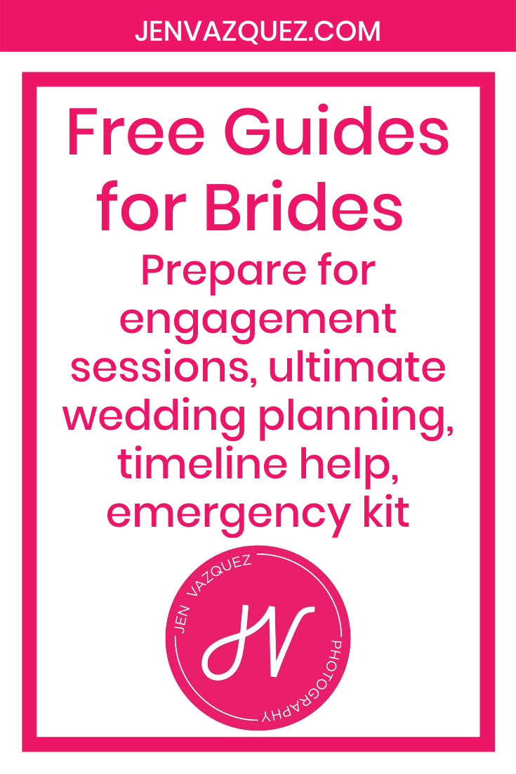 Free Guides for Brides  Prepare for engagement sessions, ultimate wedding planning, timeline help, emergency kit 1