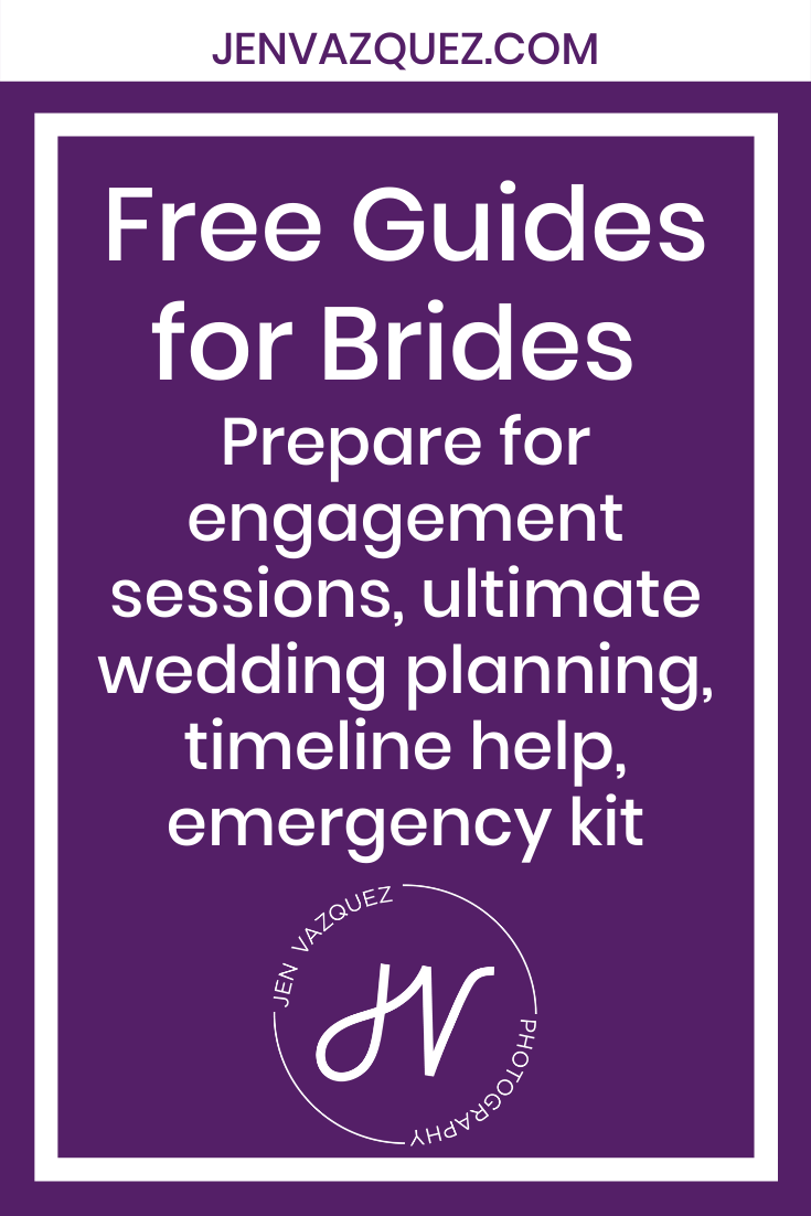 Free Guides for Brides  Prepare for engagement sessions, ultimate wedding planning, timeline help, emergency kit 3
