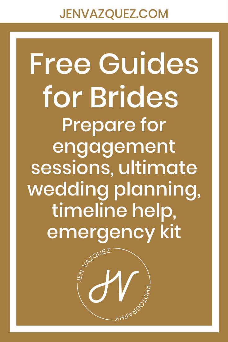 Free Guides for Brides  Prepare for engagement sessions, ultimate wedding planning, timeline help, emergency kit 4