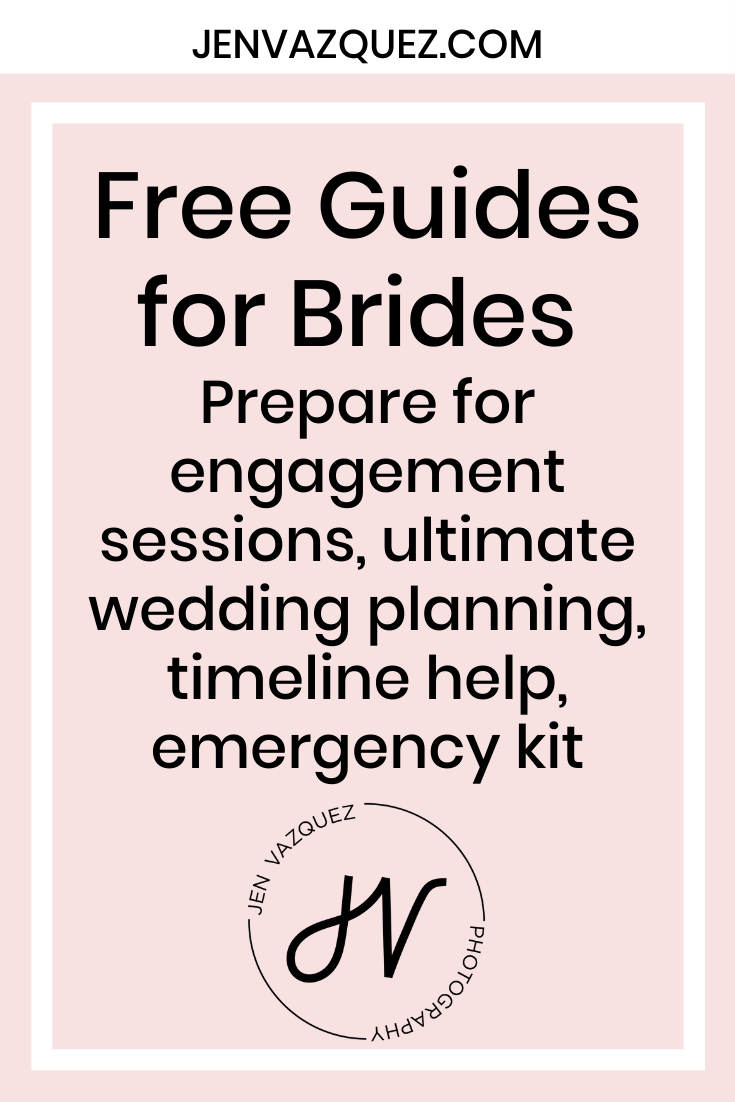 Free Guides for Brides  Prepare for engagement sessions, ultimate wedding planning, timeline help, emergency kit 5