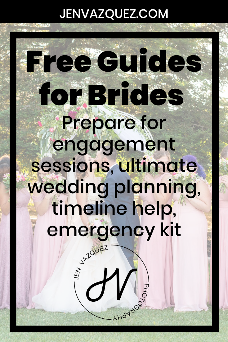 Free Guides for Brides  Prepare for engagement sessions, ultimate wedding planning, timeline help, emergency kit 8