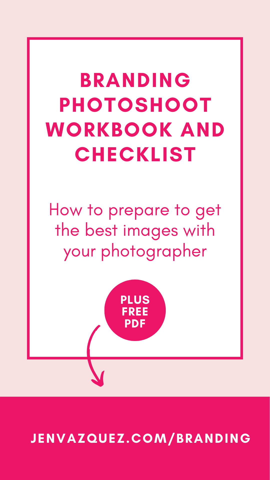 Branding Photoshoot Workbook and Checklist 1