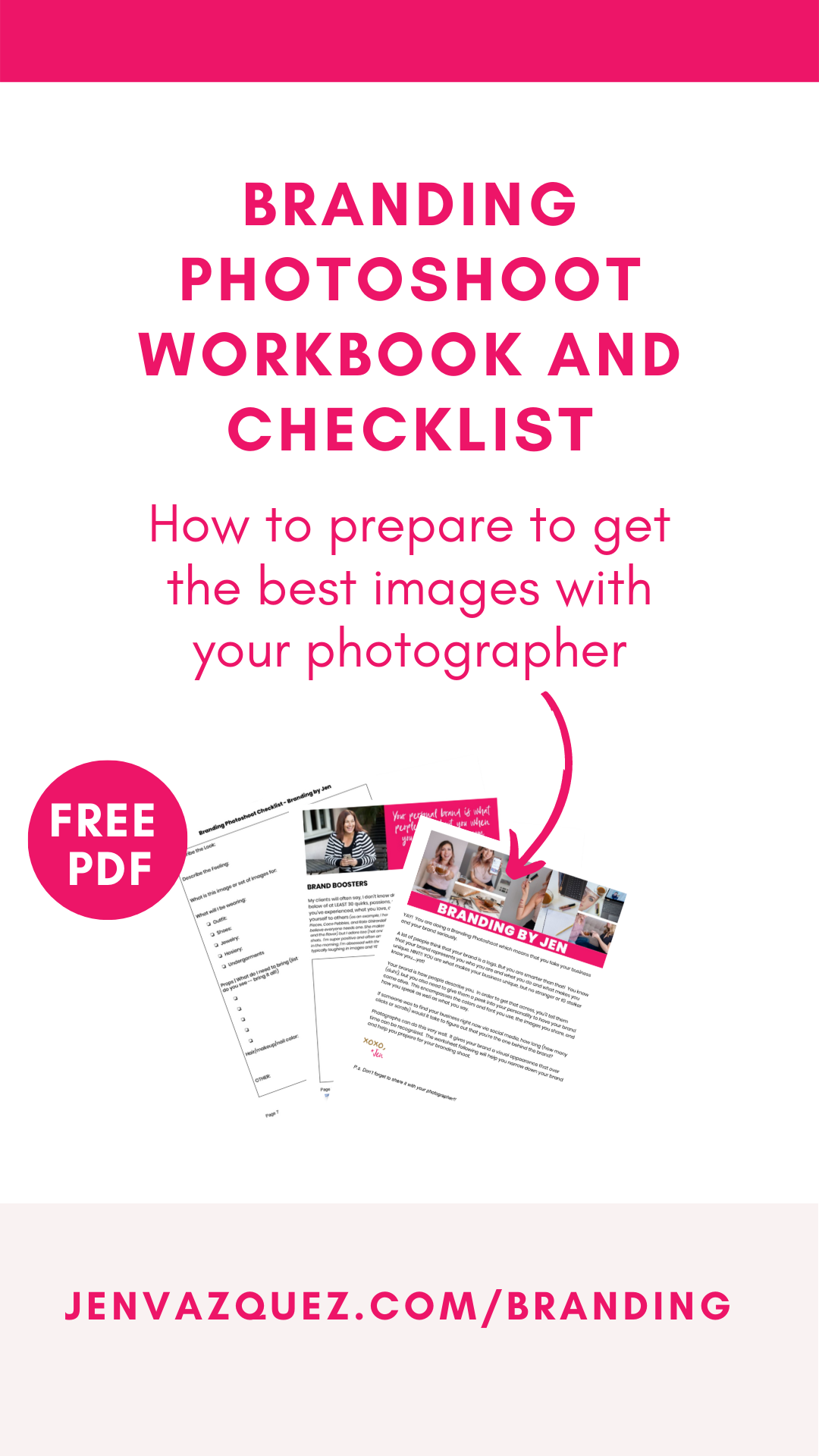 Branding Photoshoot Workbook and Checklist 4