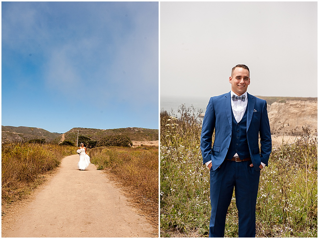 intimate Panther Beach Micro Wedding by Jen Vazquez Photography_0014