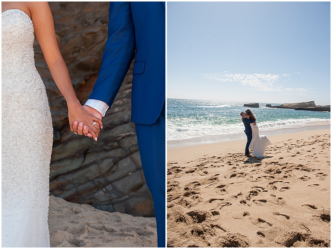 intimate Panther Beach Micro Wedding by Jen Vazquez Photography_0017