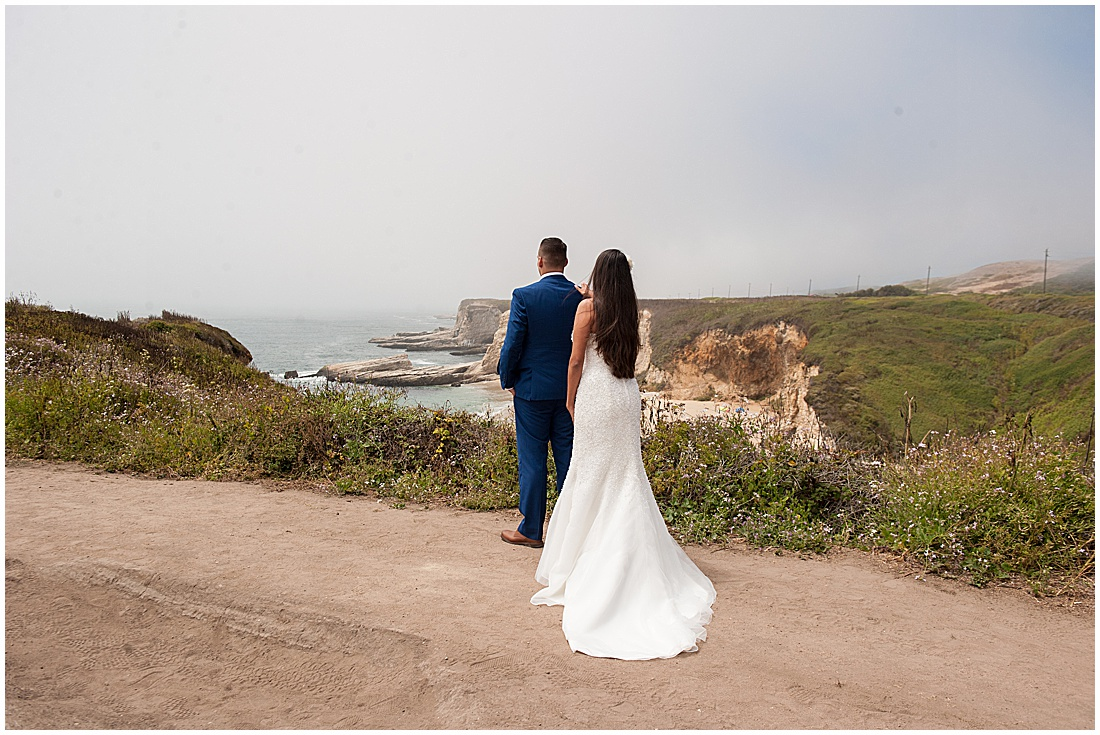 intimate Panther Beach Micro Wedding by Jen Vazquez Photography_0361