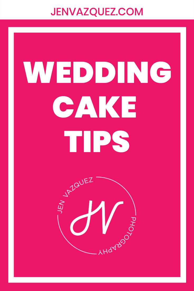 Wedding Cake Tips for Brides 2