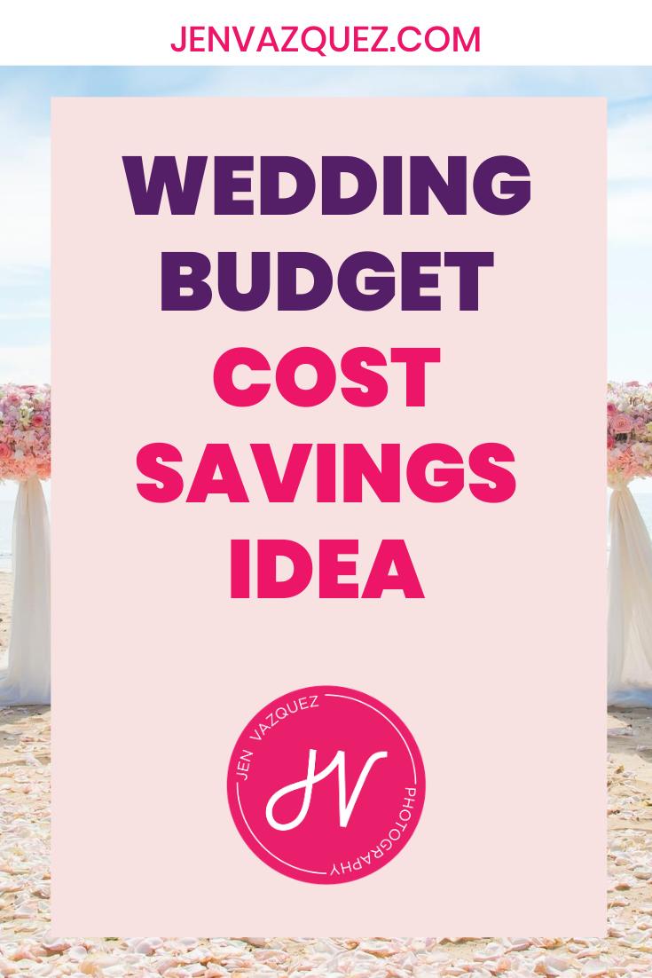 Wedding budget cost savings ideas 2