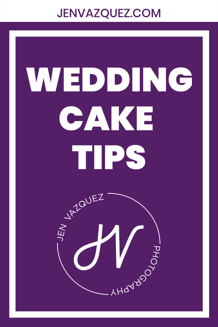 Wedding Cake Tips for Brides 3