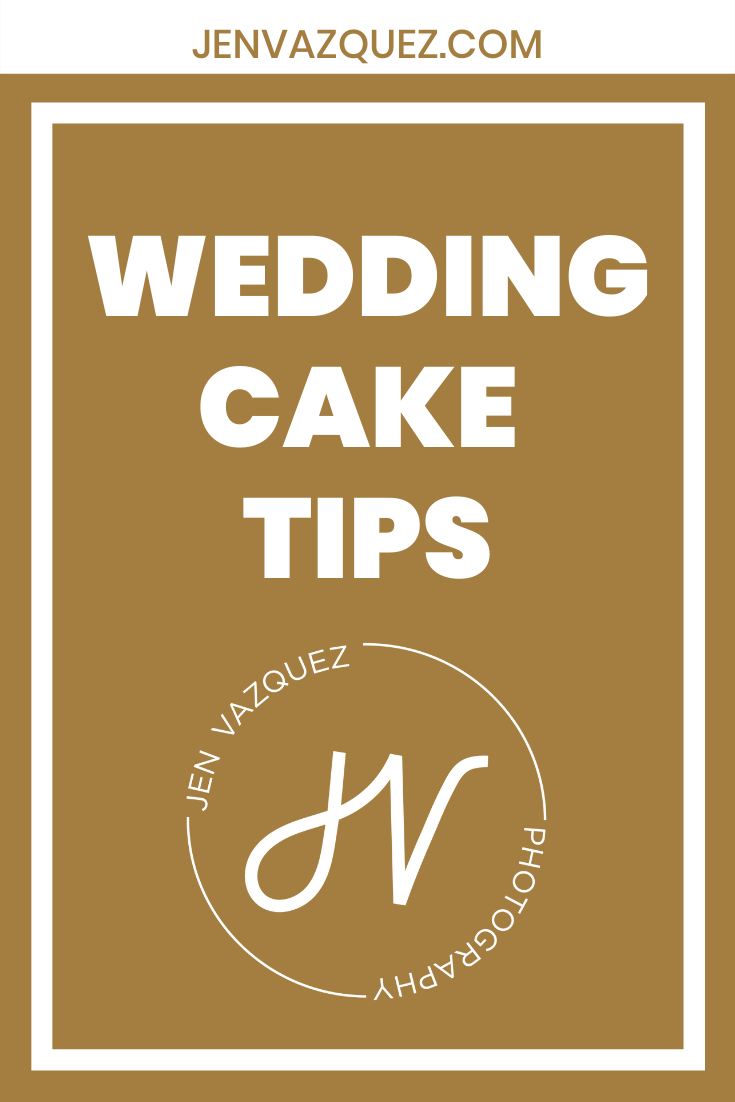 Wedding Cake Tips for Brides 4