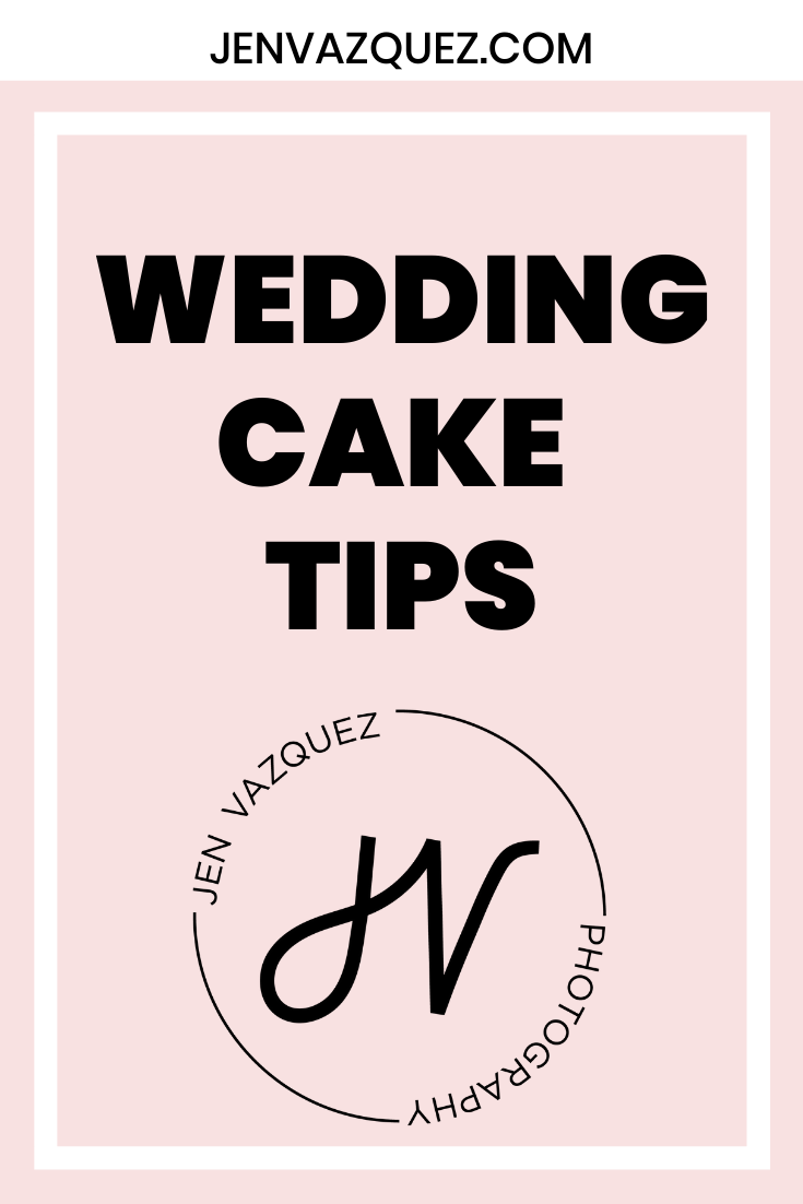 Wedding Cake Tips for Brides 5