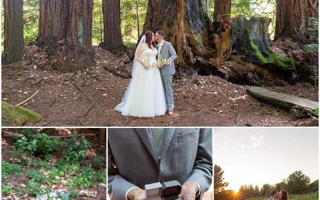 Redwood Ridge Estate Wedding in Los Gatos | Lauren and David