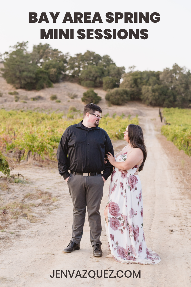 Bay Area  SPRING  Mini Sessions  with  Jen Vazquez Photography