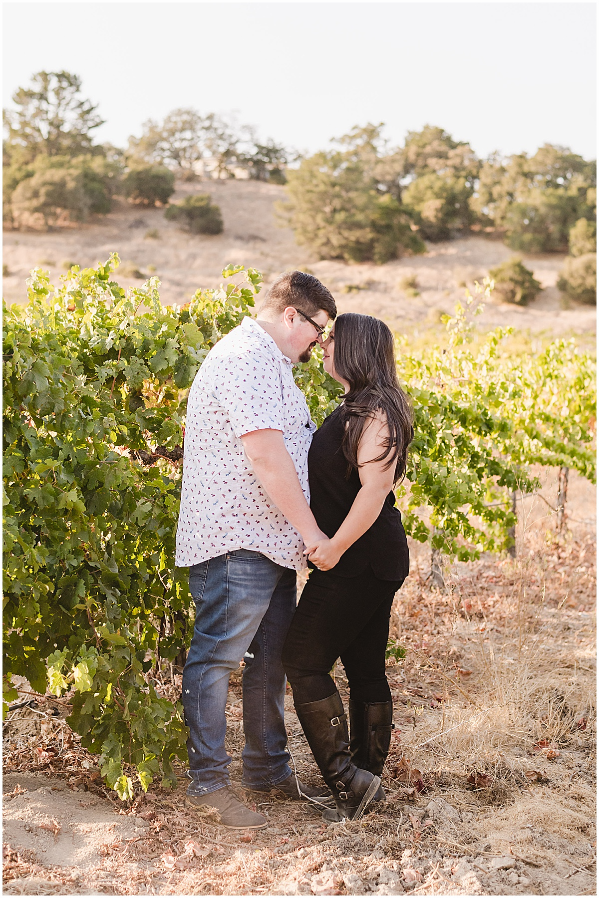 Fortino Winery Engagement Session Zulaikha and Greg in Gilroy by Jen Vazquez Photography_0004