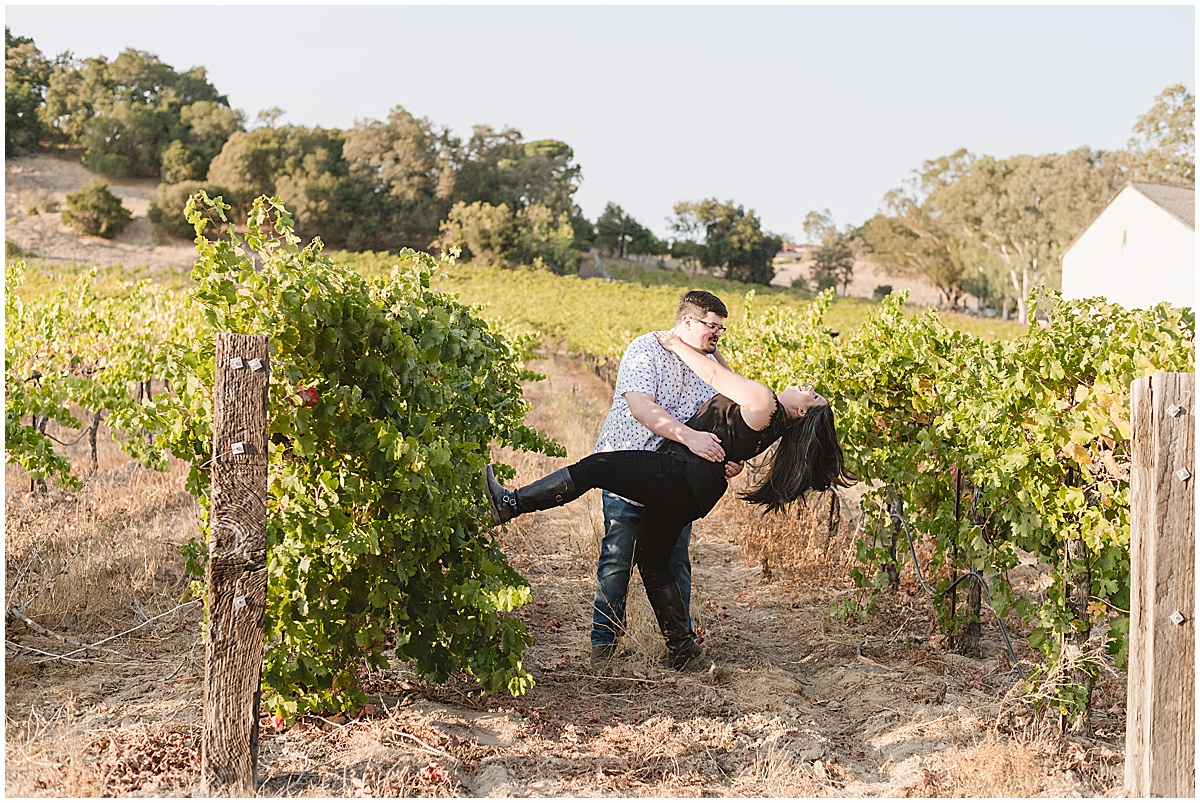 Fortino Winery Engagement Session Zulaikha and Greg in Gilroy by Jen Vazquez Photography_0007
