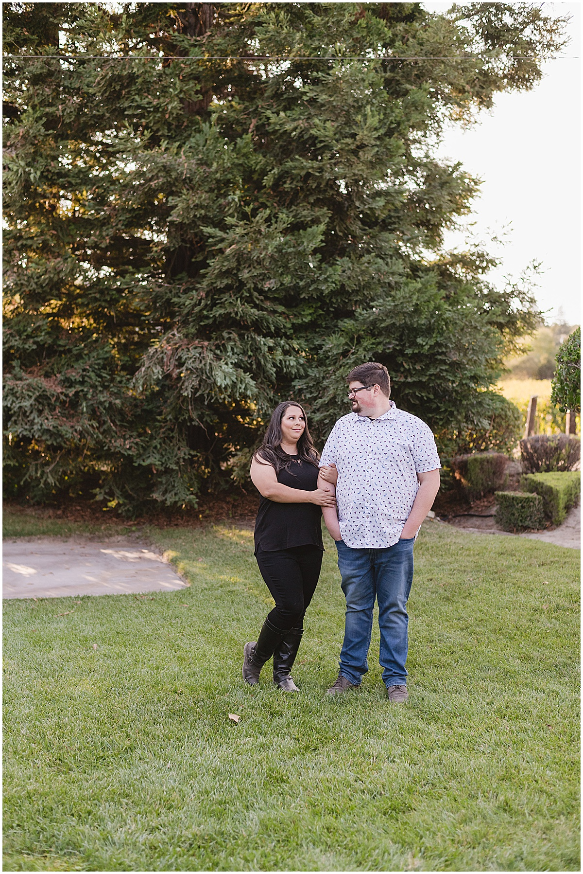 Fortino Winery Engagement Session Zulaikha and Greg in Gilroy by Jen Vazquez Photography_0009