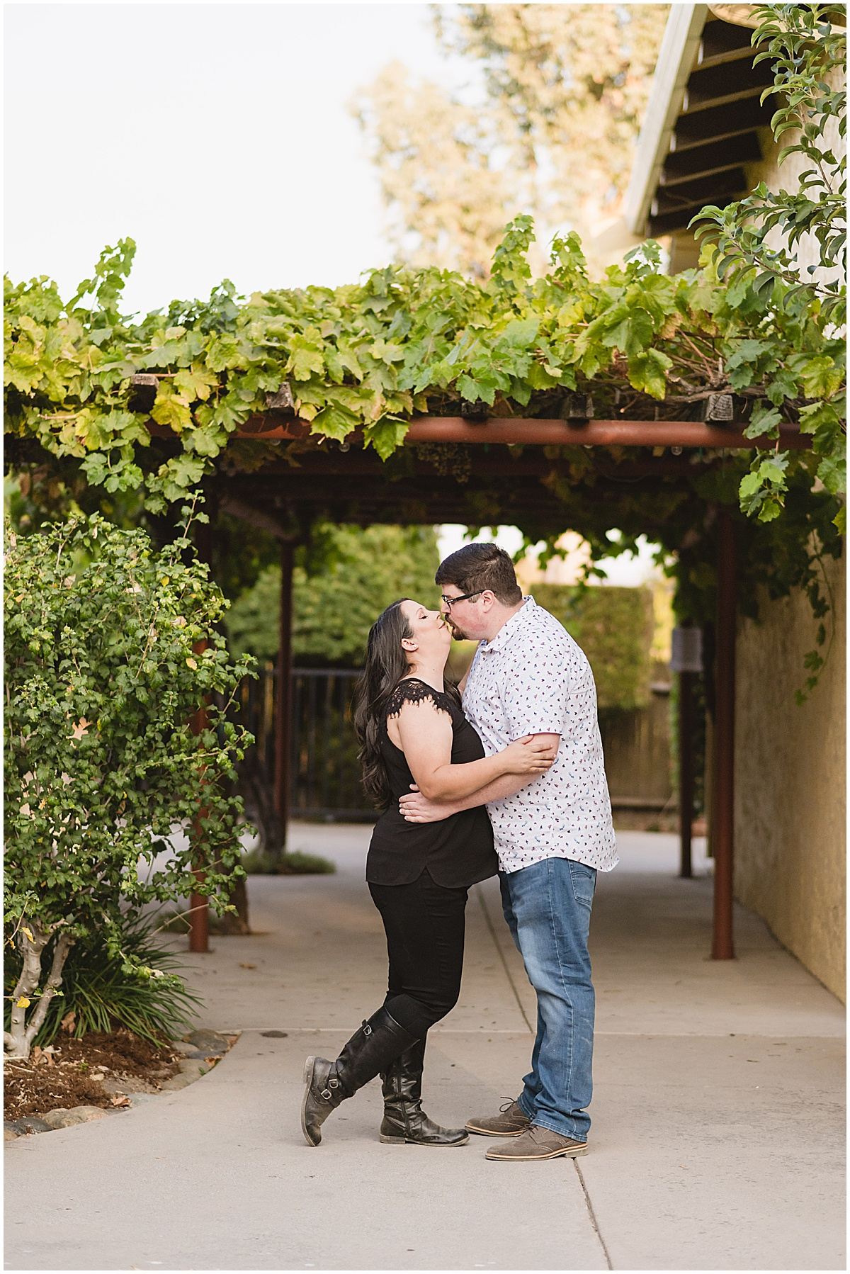 Fortino Winery Engagement Session Zulaikha and Greg in Gilroy by Jen Vazquez Photography_0014