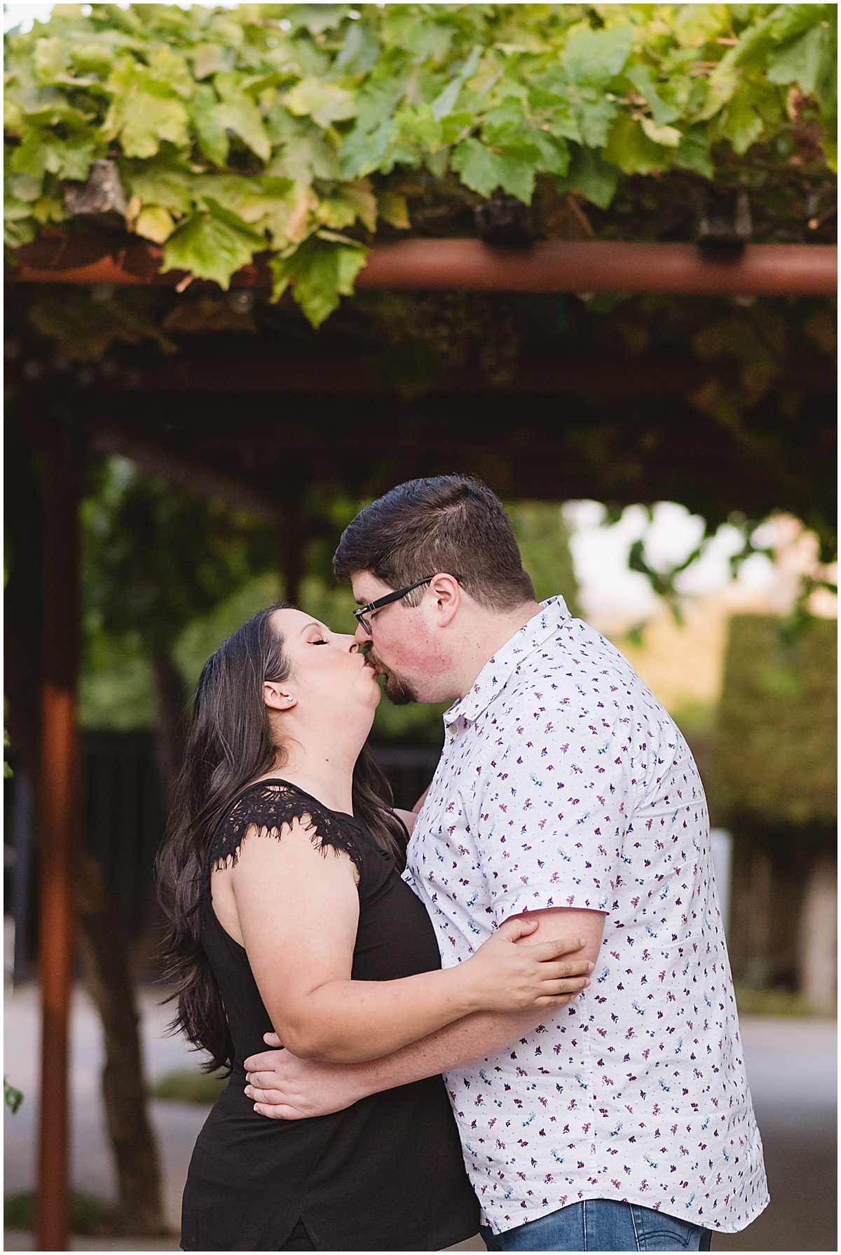 Fortino Winery Engagement Session Zulaikha and Greg in Gilroy by Jen Vazquez Photography_0016