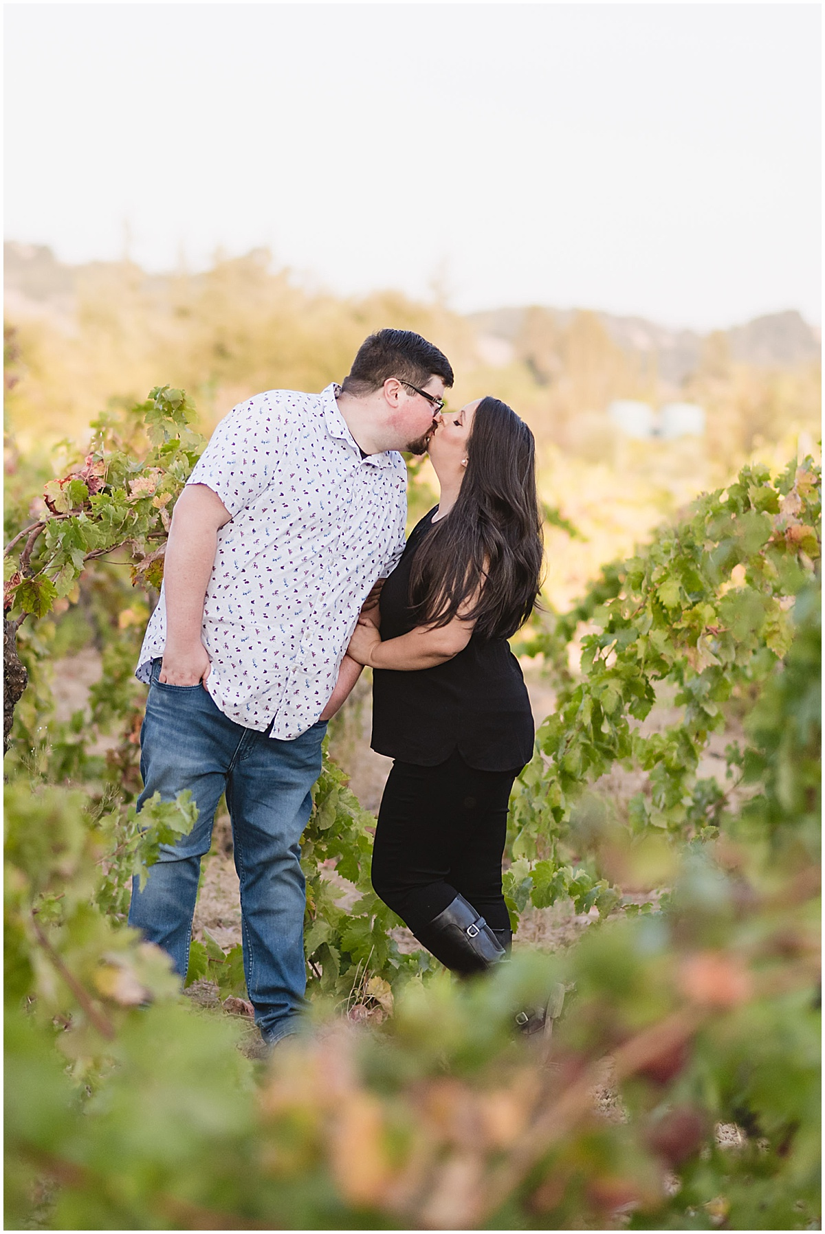 Fortino Winery Engagement Session Zulaikha and Greg in Gilroy by Jen Vazquez Photography_0025