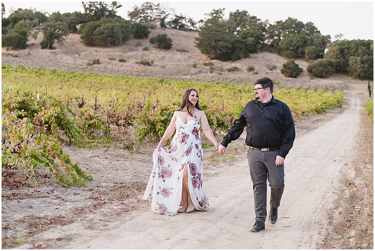 Fortino Winery Engagement Session Zulaikha and Greg in Gilroy by Jen Vazquez Photography_0043