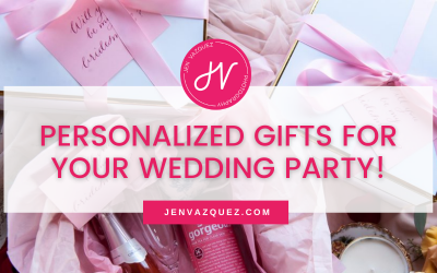 Personalized gifts for your Wedding party!