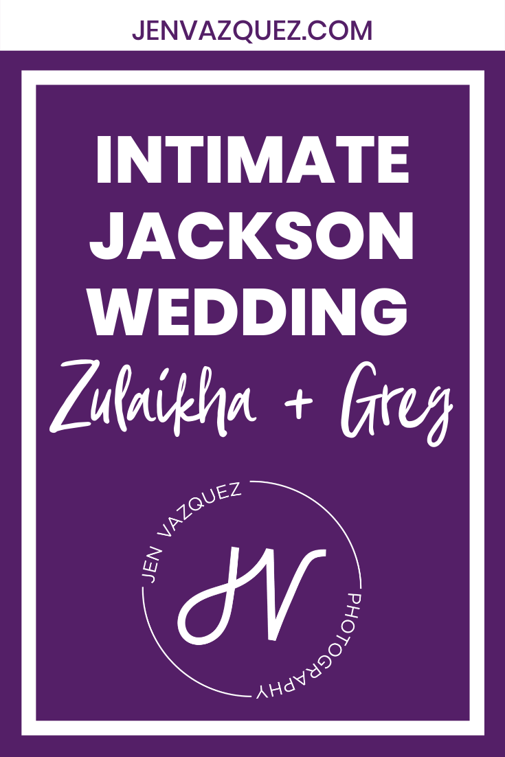 Intimate Jackson Wedding in the forest