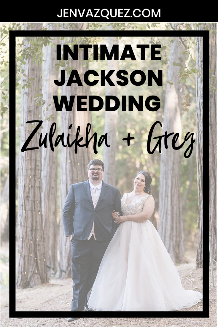 Intimate Jackson Wedding in the Woods