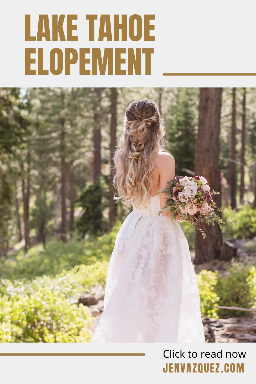 Lake Tahoe Micro Wedding Photographer