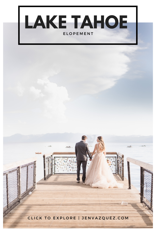 North Lake Tahoe Wedding Photographer