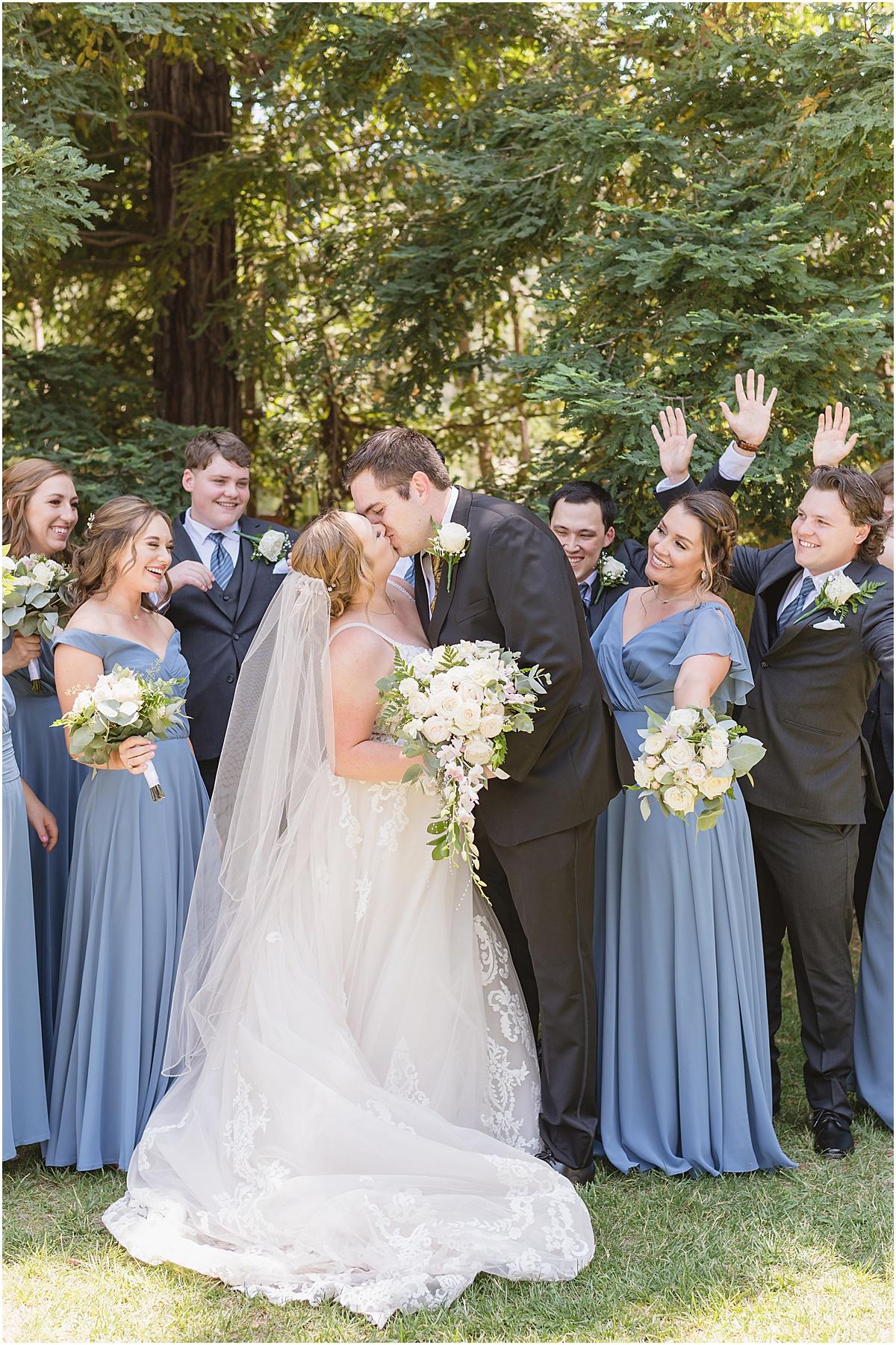 Gilroy wedding at Fortino Winery Ashley and Stephen