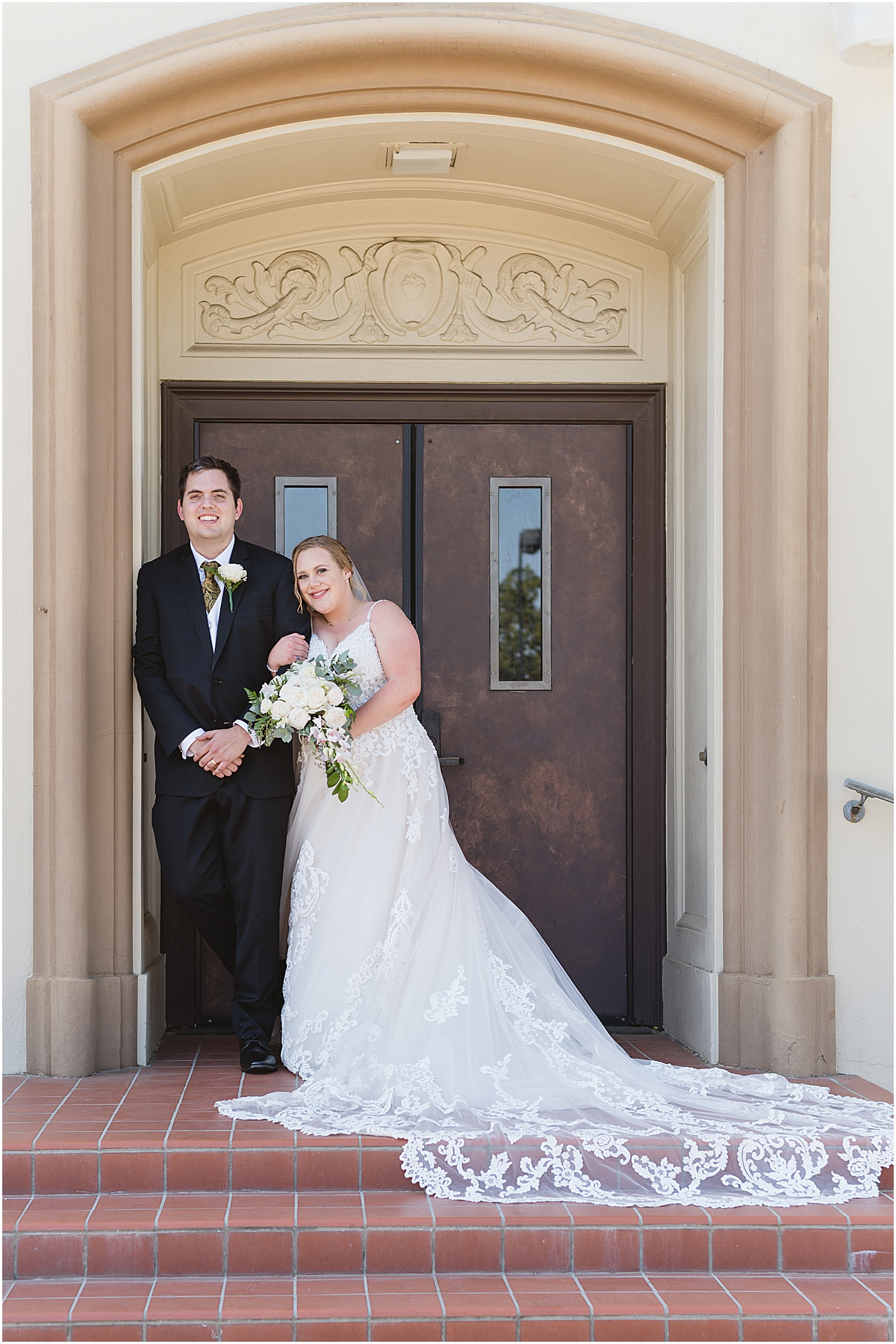 Gilroy wedding at saint mary's catholic church Ashley and Stephen