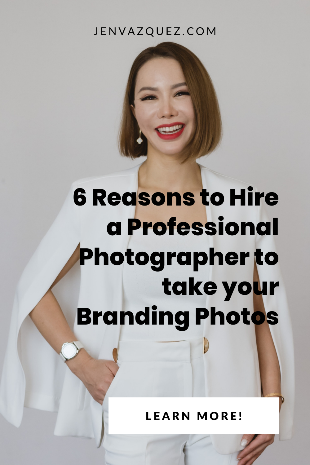 6 Reasons to Hire a Professional Photographer to take your Branding Photos by San Francisco Brand Photographer Jen Vazquez