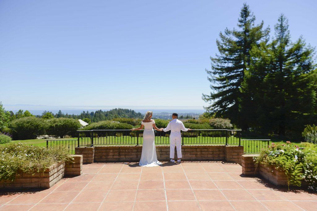 Chocolate Labrador Puppy Wedding at Kennolyn in Santa Cruz Hills of California by Jen Vazquez Photography-212