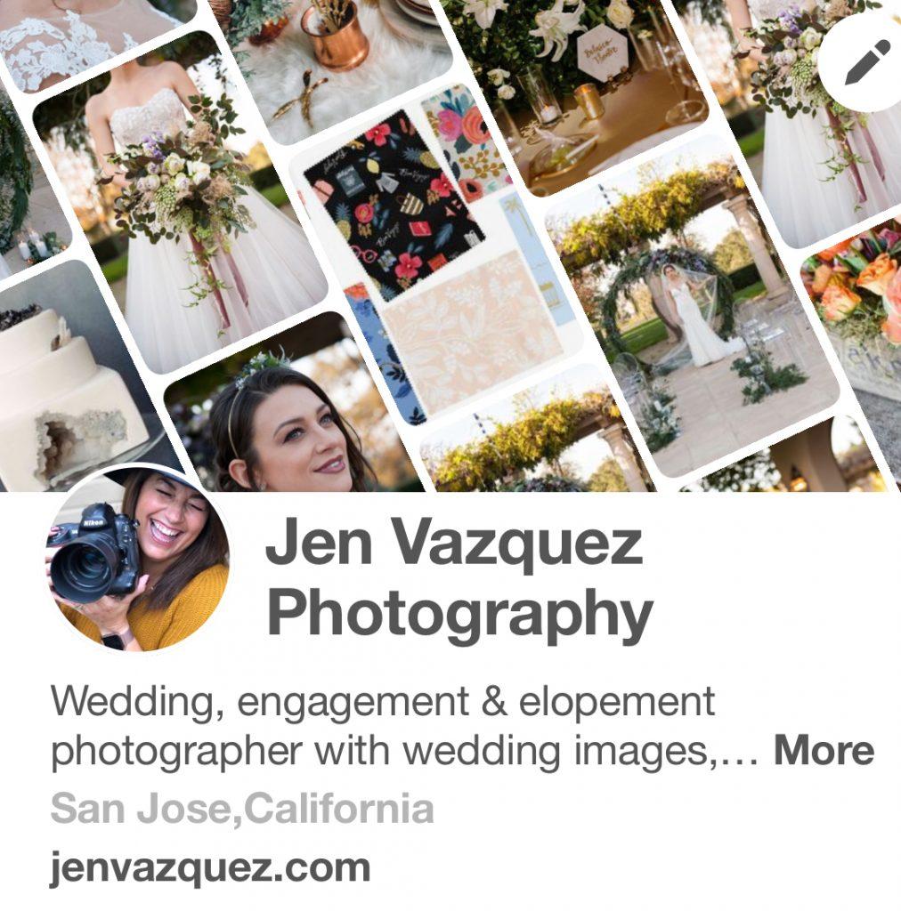 Jen Vazquez Photography Pinterest Board