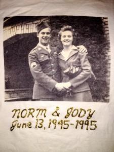 Norm and Jody Martin Anniversary Tshirt | Jen Vazquez Photography