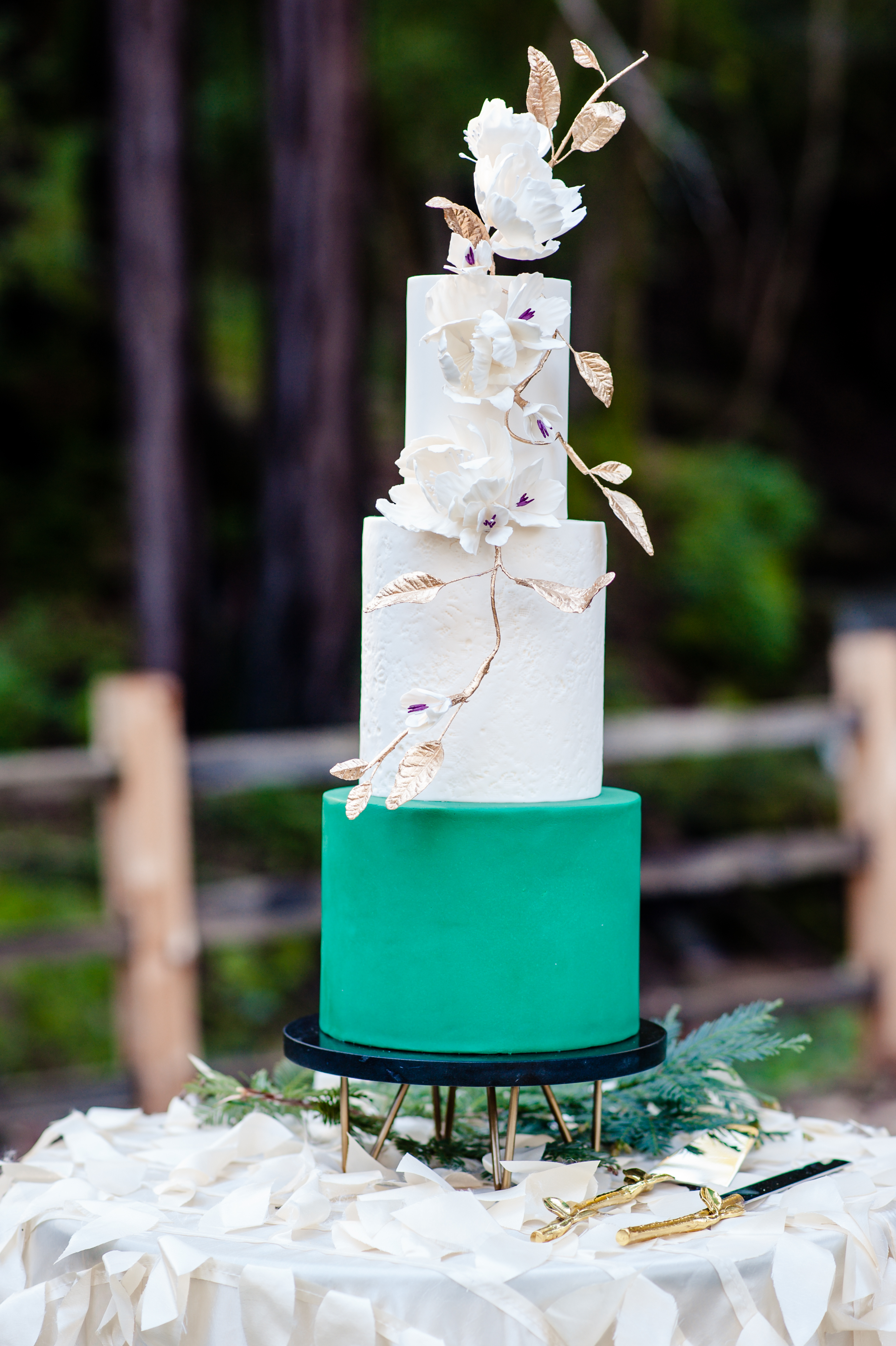 Gilroy Bay Cake Design in Morgan Hill Wedding 1