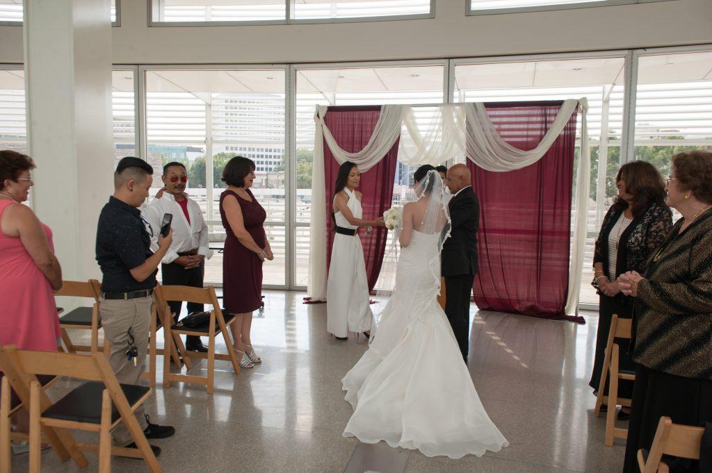 Wedding at San Jose City Hall Rotunda Andrea + Whitney 5