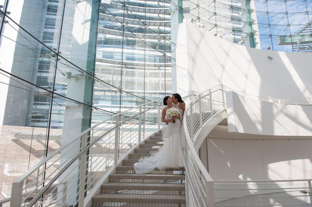 Wedding at San Jose City Hall Rotunda Andrea + Whitney1
