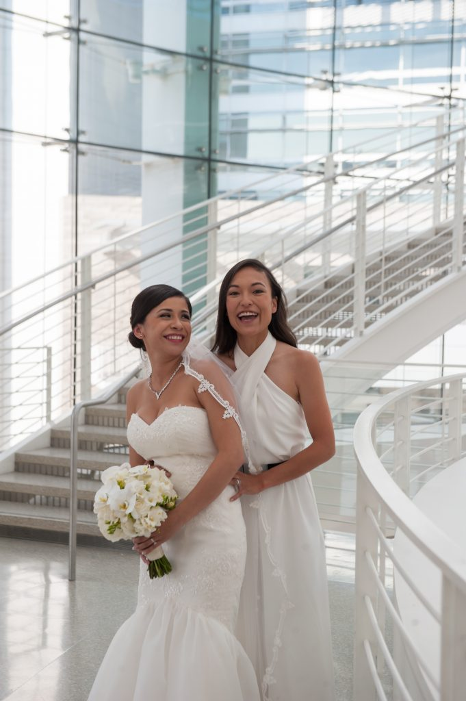 Wedding at San Jose City Hall Rotunda Andrea + Whitney3