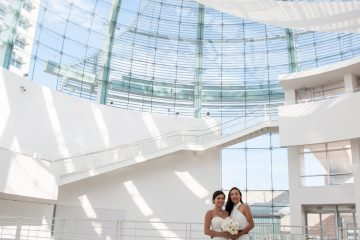 Wedding at San Jose City Hall Rotunda Andrea + Whitney5